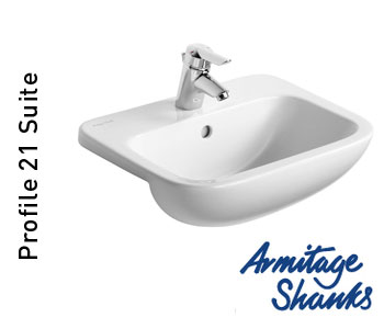 Armitage Shanks Profile 21 Bathroom Suite