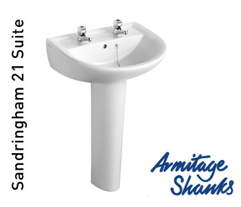 Armitage Shanks Sandringham 21 Bathroom Suite