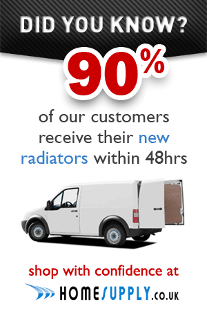 90% of our radiators are delivered within 48 hours
