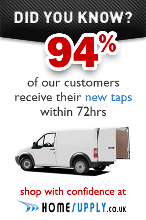 94% of our taps are delivered within 72 hours