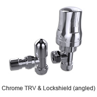 Chrome TRV and Lockshield