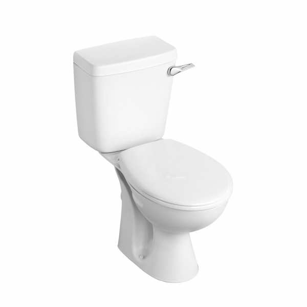 Armitage Shanks Sandringham 21 close coupled pan with 6 or 4 Litre Single Flush Lever Cistern