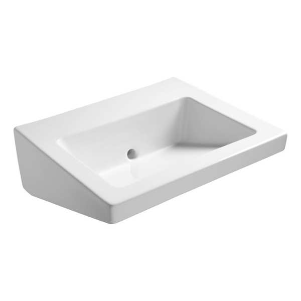 Armitage Shanks Leadenhall 55cm washroom basin with back outlet no tapholes