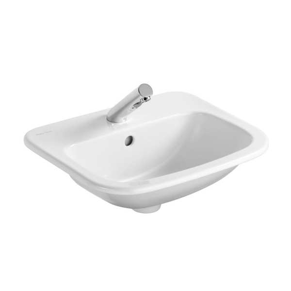 Armitage Shanks Planet 21 50cm Countertop basin with overflow, no chainhole one taphole
