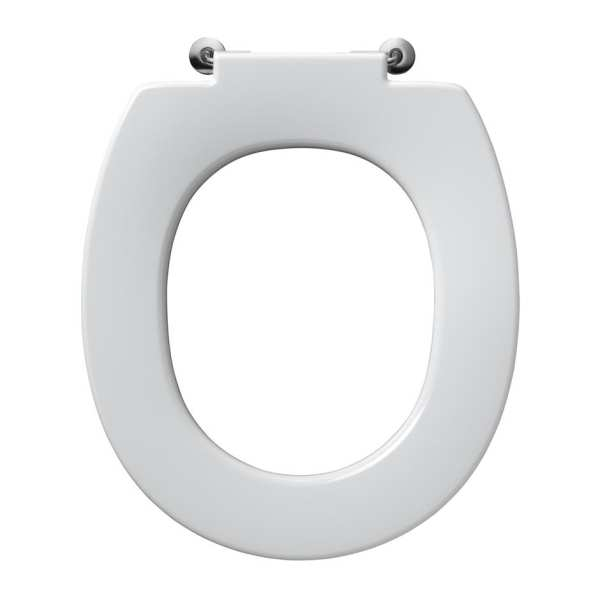 Armitage Shanks Contour 21 standard toilet seat no cover bottom fixing hinges
