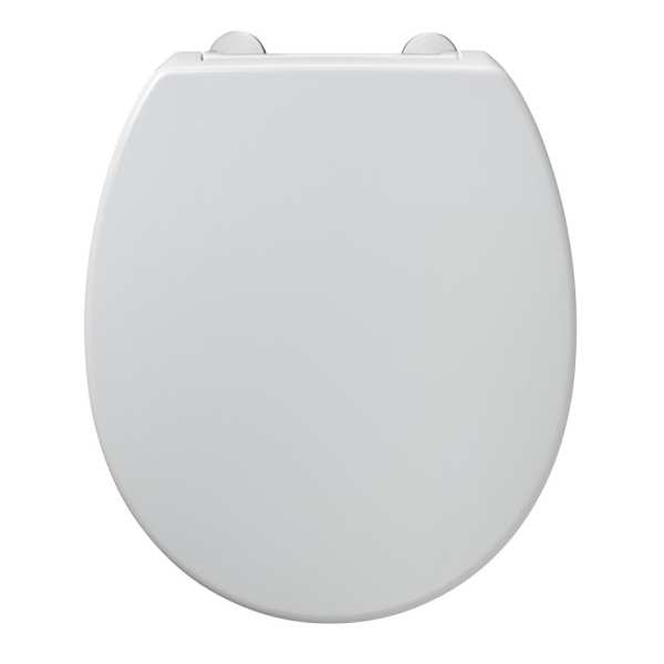 Armitage Shanks Contour 21 standard toilet seat and cover top fixing hinges