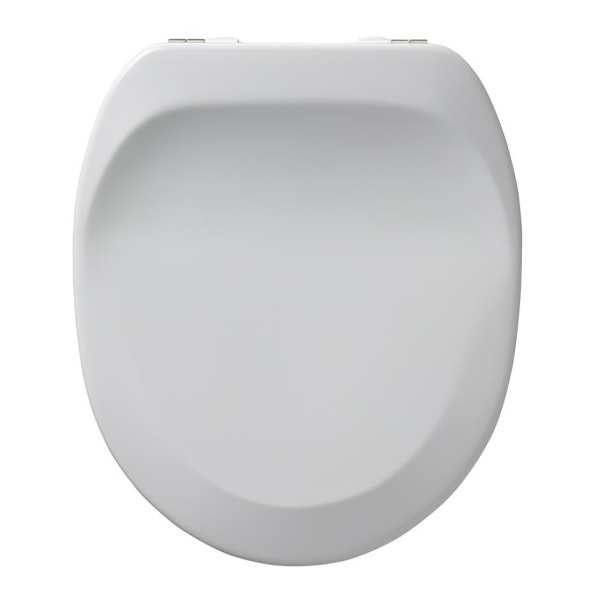 Armitage Shanks Dania 5cm raised toilet seat and cover White