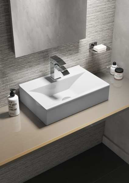 Cassellie Rectangular Wall Hung or Countertop Basin CVB016
