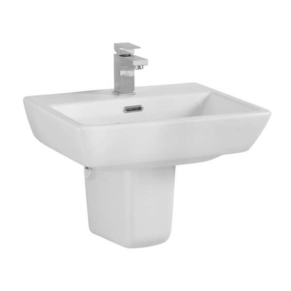 Cassellie Daisy Lou Basin with Semi Pedestal DAY007