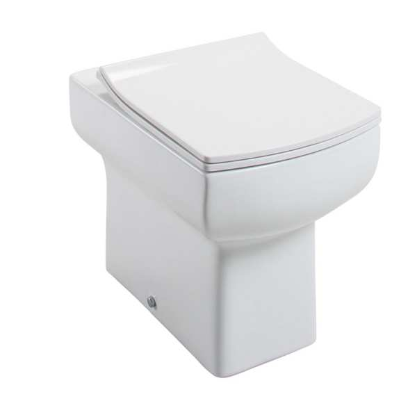 Cassellie Daisy Lou Back To Wall Pan with Slimline Seat DAY009