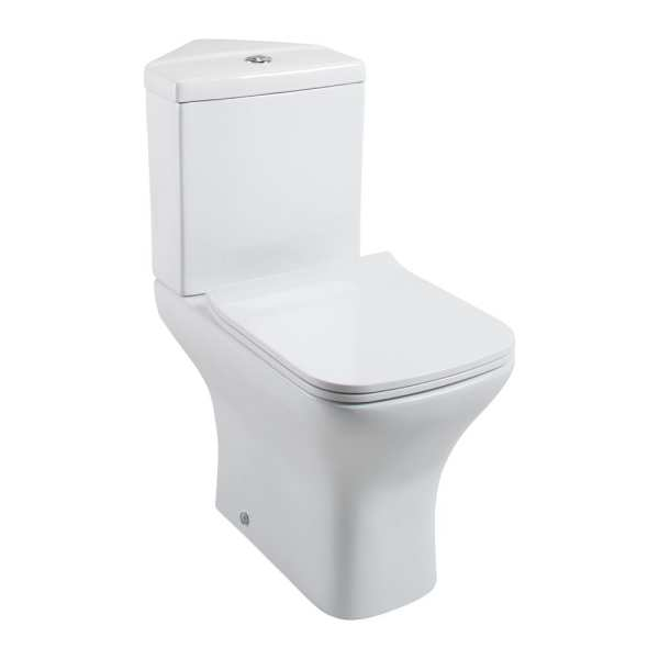Cassellie Fair Corner Close Coupled Toilet FAIK010