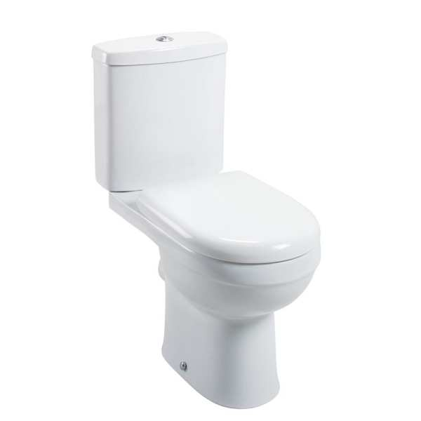 Cassellie Ivo Close Coupled Toilet IVO001