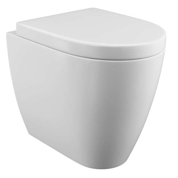 Cassellie Loxley Back To Wall Toilet with Wrapover Seat LOX003