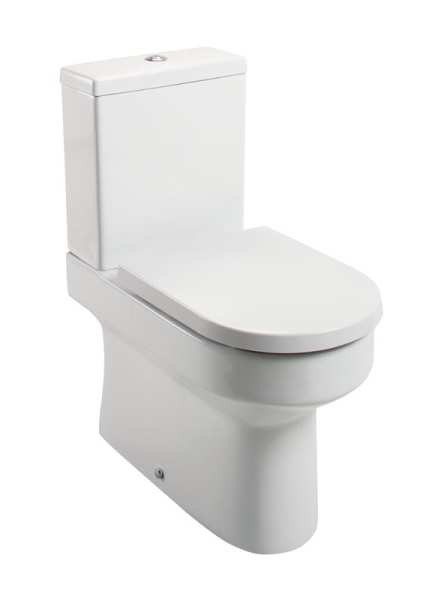 Cassellie Montego BTW Close Coupled Wc Pan And Cistern MON005