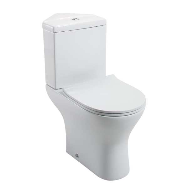 Cassellie Spek Corner Close Coupled Toilet SPEK010