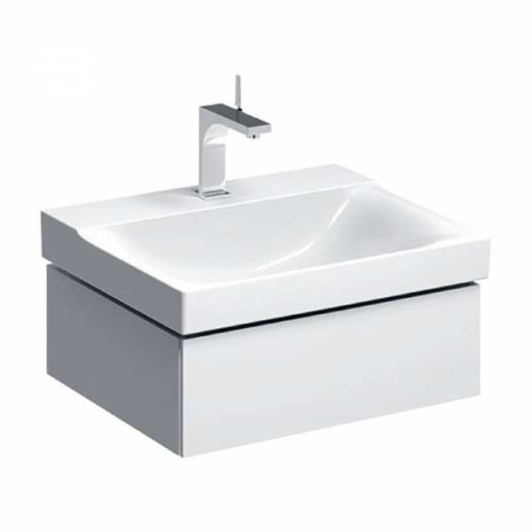 Geberit Xeno2 600mm White Wall Hung Basin Unit 500.505.01.1