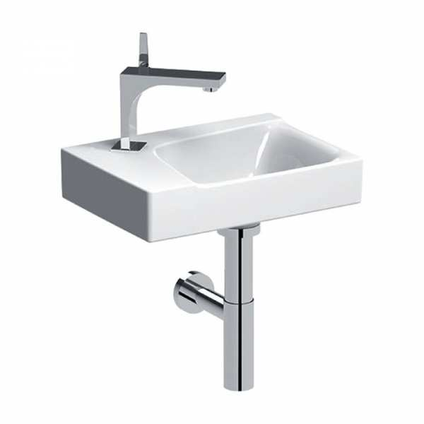 Geberit Xeno2 400mm One Tap Hole Left Hand basin 500.528.01.1