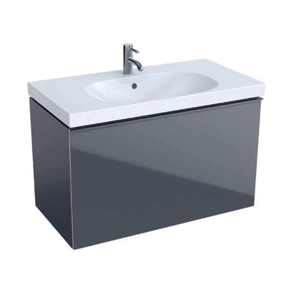 Geberit Acanto Lava 900mm Wall Hung Basin Unit 500.612.JK.2