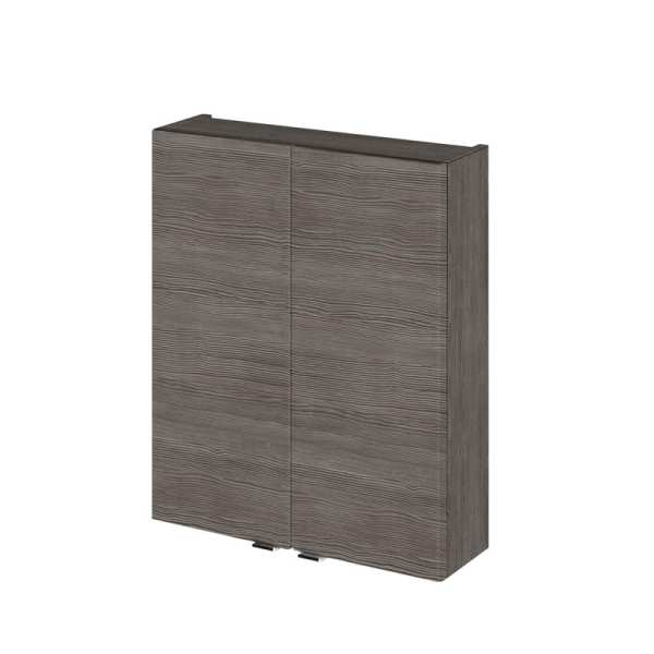 Hudson Reed Grey Avola 500mm Wall Unit OFF555