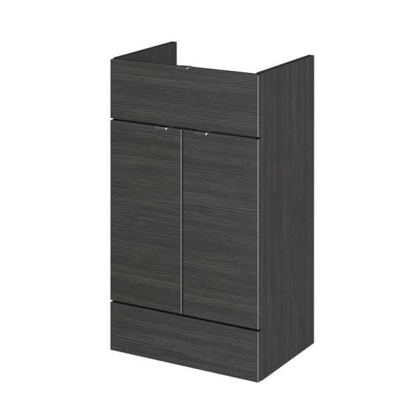 Hudson Reed Hacienda Black 500mm Drawer Lined Unit OFF626