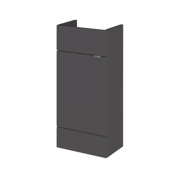 Hudson Reed Grey Gloss 400mm Vanity Unit OFF904