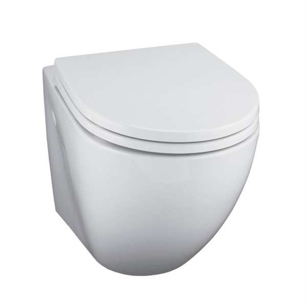 Ideal Standard White wall hung WC pan horizontal outlet
