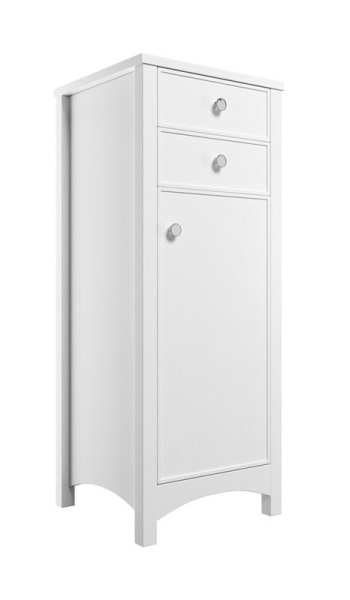 Moods Lucia Satin White 465 Tall Boy Unit DIFT1260