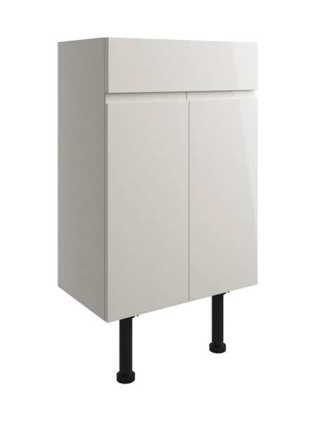 Moods Valesso Pearl Grey Gloss 500mm Vanity Unit DIFT1504