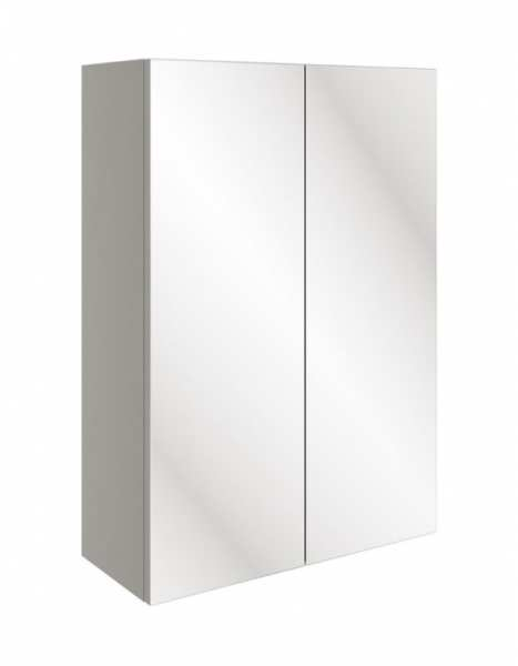 Moods Valesso Pearl Gloss Grey 500mm Mirrored Unit DIFT1576