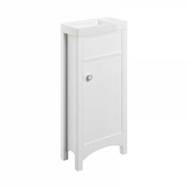 Moods Lucia Satin White 400 Vanity Unit and Basin DIFTP1624
