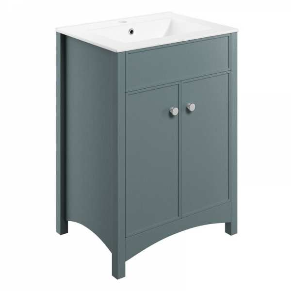 Moods Lucia Sea Green 610 Vanity Unit and Basin DIFTP1626