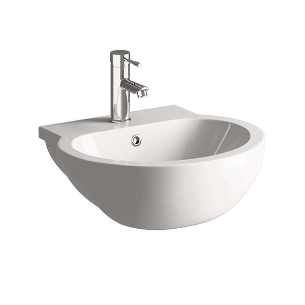 Moods Mimosa Semi Recessed Basin 540 x 490mm
