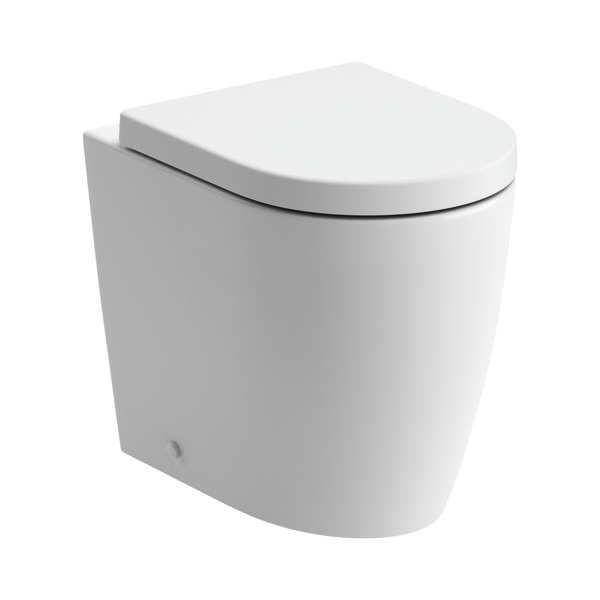 Moods Cilantro Back To Wall Rimless WC Inc Soft Close Toilet Seat DIPTP0156