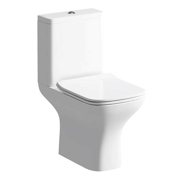 Moods Cedarwood Close Coupled WC Inc Soft Close Toilet Seat DIPTP0170