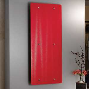 Apollo Ferrara Glass Designer Radiator 1420 x 500mm FG14SS6S_RED