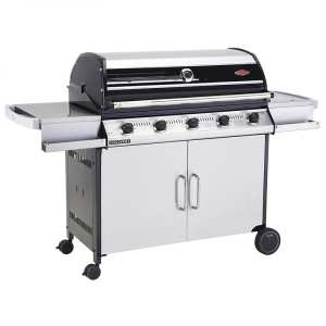BeefEater Discovery 1000RS 5 Burner BBQ & Trolley with Side Burner