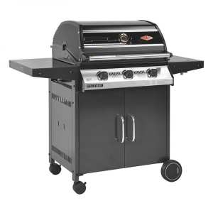 BeefEater 1000R Discovery 3 Burner BBQ & Trolley with Side Burner