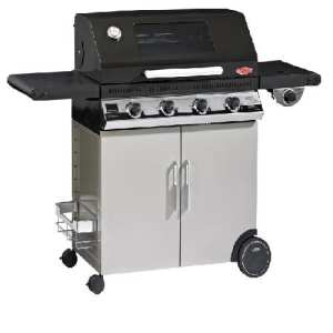 BeefEater 1100E Discovery Series 3 Burner BBQ Cabinet Trolley Side Burner