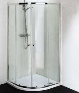 Cassellie Quatro Quadrant Shower Enclosure 4mm Glass