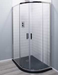 Cassellie Seis Trade Offset Quadrant Shower Enclosure 6mm Glass