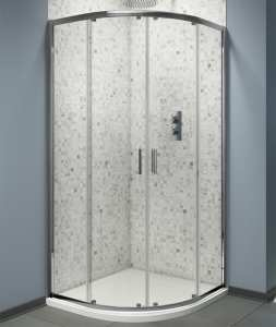 Cassellie Seis Trade Quadrant Shower Enclosure 6mm Glass