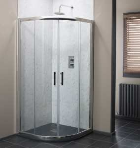 Cassellie Cass Six Easy Clean 800 Quadrant Shower Enclosure 6mm Glass