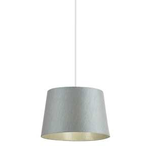 Endon Cordelia Tapered Cylinder Light Shade CORDELIA 12SIL L