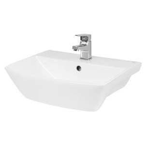 Hudson Reed Furniture Ceramics Hamnet 500mm Semi Recessed Basin SRB005