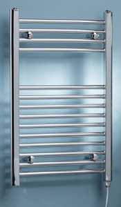 Kartell K Rad ELECTRIC ONLY STRAIGHT Towel Rail 500 x 800mm 150W
