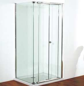 Kudos Infinite 1000mm Centre Folding Shower Door