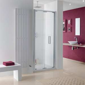 Lakes Coastline Bergen Bi Fold Shower Door 800mm