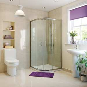 Moods RefleXion Basix 800 2 Door Sliding Quadrant Shower DIEQ8024