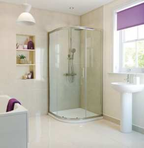 Moods RefleXion Basix 800 1 Door Sliding Quadrant Shower DIEQ8042