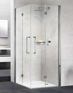 Novellini Young 2GS Corner Entry Bifold Shower Door 900 Right Hand Y22GS87LD 1K